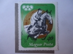 Stamps Hungary -  München 1972.