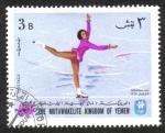 Sellos de Asia - Yemen -  Juegos Olímpicos de Invierno en Grenoble