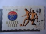 Sellos de Europa - Hungría -  Magyar Posta 1911-1961.