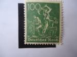 Stamps Europe - Germany -  Deutsche Reich. 1922.