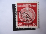Stamps Germany -  Alemania DDR 1956 (S/025)