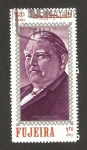Stamps : Asia : United_Arab_Emirates :  Fujeira - Ludwig Erhard