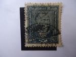 Stamps Germany -  Heinrich Von Stwephan 1831-1889. S/340