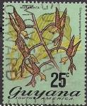Sellos del Mundo : America : Guyana : flores