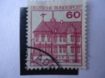 Stamps Germany -  Schloss Rheyot - S/a. 1311
