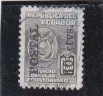 Stamps Ecuador -  servicio consular ecuatoriano