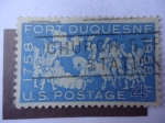 Stamps United States -  Fort Duquesnf 1858-1958 - S/usa. 1123.