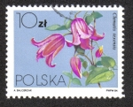 Stamps Poland -  Flores Local- Clematis
