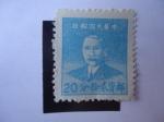 Stamps Chile -  Sun Yat-Sen   (1866-1925)-China-Imperio y República-Revolucionario y Político - Serie:Dr: Sun Yat-Se