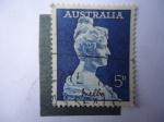 Sellos de Oceania - Australia -  Cantante: Nelly Melba (Helen Porter Mitchell) S/341