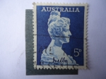 Stamps Australia -  Cantante: Nelly Melba (Helen Porter Mitchell) S/341