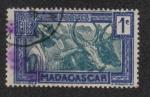 Stamps Madagascar -  Zebu