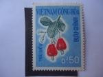 Stamps Vietnam -  Flora -Marañón.