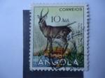 Stamps : Africa : Angola :  Burro Do Mato -ellipsen waterbuck (Kobus ellipsiprymnus)