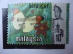 Sellos de Asia - Malasia -  Fauna: Selangor.
