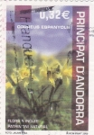 Stamps Andorra -  flors a incles patrimoni natural