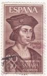 Stamps Spain -  Alonso Fernandez de Lugo