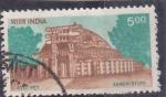 Stamps : Asia : India :  templo