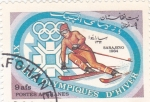 Sellos de Asia - Afganistán -  Olimpiada Sarajevo-84