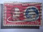 Sellos de America - Estados Unidos -  U.S. Air Mail - S/C66.