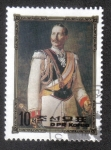 Sellos de Asia - Corea del norte -  Varios reyes y reinas de Europa del siglo 19