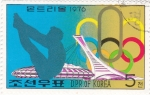 Stamps North Korea -  Olimpiada Montreal-76