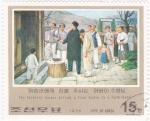 Sellos del Mundo : Asia : Corea_del_norte :  pintura