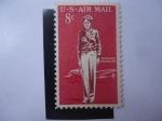 Sellos de America - Estados Unidos -  Amelia Earhart.