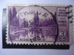Stamps United States -  Paisaje.