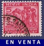 Stamps India -  INDIA Refugee relief 5