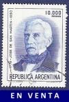 Sellos de America - Argentina -  ARG San Martín 10000 (2)