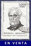 Stamps Argentina -  ARG Brown 5000 (2)