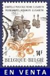 Sellos del Mundo : Europa : Bélgica : BÉLGICA Chapelle Musicale Reine Elisabeth 14