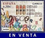 Sellos de Europa - España -  Edifil 4847 III Centenario de la Real Academia Española 0,38