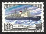 Sellos de Europa - Rusia -  Flota de rompehielos Nacional