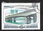 Stamps Russia -  Puentes de Moscu