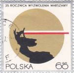 Sellos de Europa - Polonia -  25 aniversario
