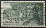 Sellos de Europa - España -  ESPAÑA 1951 1111 Sello V Centenario del Nacimiento de Fernando el Católico Usado