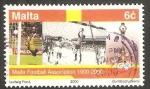 Stamps : Europe : Malta :  1096 - Centº del fútbol en Malta