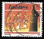 Sellos del Mundo : Africa : Zimbabwe : Zimbabwe-cambio