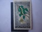 Sellos del Mundo : Asia : Afganistán : Día de la Agricultura - Gusano de Seda (Bombyx Mori) y Mariposa (Morus Sp)