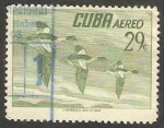 Sellos de America - Cuba -  140 - Aves