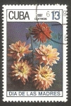 Stamps : America : Cuba :  2765 - Día de las Madres, dálias
