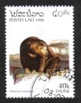 Sellos de Asia - Laos -  Fauna