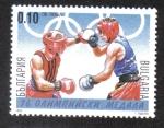 Stamps Bulgaria -  Ganadores de medallas en Juegos Olímpicos de verano