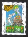 Sellos de Europa - Bulgaria -  Pascua de 1998