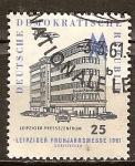 Sellos de Europa - Alemania -  Feria de primavera Leipzig 1981 (DDR).