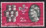 Stamps United Kingdom -  367 - Año de la productividad nacional