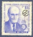 Sellos de America - Chile -  Centenario del nacimiento de Paul Harris (1868-1947)