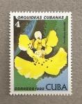 Stamps Cuba -  Orquideas cubanas